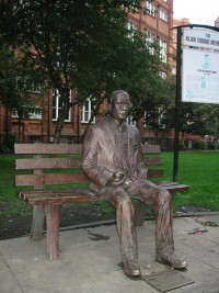 450px-Alan Turing Memorial Closer