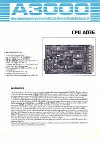 Depliant scheda CPU