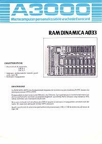 Depliant scheda RAM