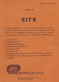 Manuale KIT 8