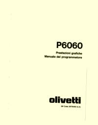 P6060 - Manuale prestazioni grafiche