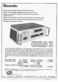 Pubblicità GP sistema Child Z