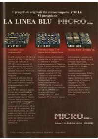 Pubblicità schede Microdesign