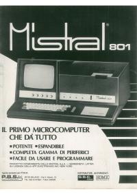 Pubblicità Mistral 801