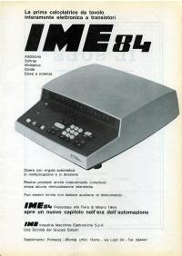 Pubblicità IME 84