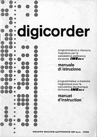 Manuale IME Digicorder