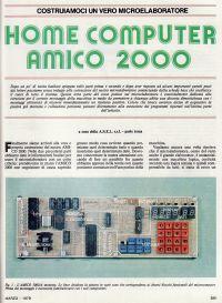 Articolo sull'Amico 2000