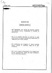 Documento tecnico interno