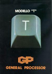 Depliant Modello T