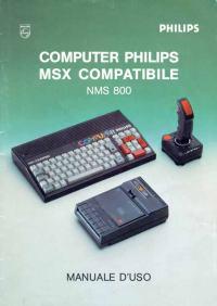 Manuale utente NMS 800