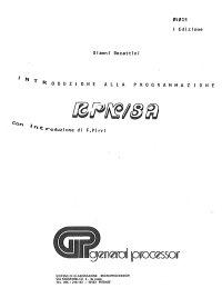 Manuale RPN/8A
