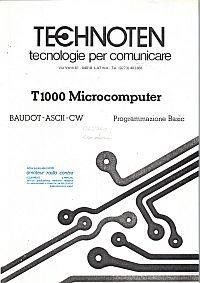 Technoten T1000 Programmazione Basic