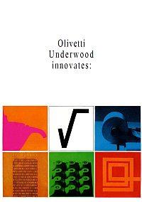 Depliant calcolatrici Olivetti