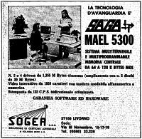Pubblicità MAEL 5300 della Saga