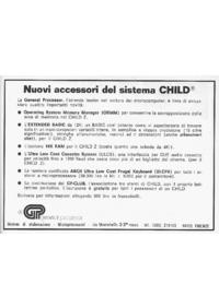 Pubblicità GP accessori linea Child