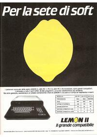Pubblicità Lemon II della Belton